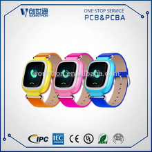 2017 New GPRS location tracking round smart watch