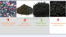 Recycled SBR Rubber Granule, Black SBR Rubber Crumb, Price Of Crumb Rubber -FN-DA-2017021401