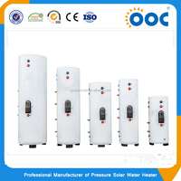 Split solar water heater pressurized with working station
