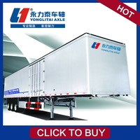 Skeleton Semi Trailer 3axles Bulk Cement
