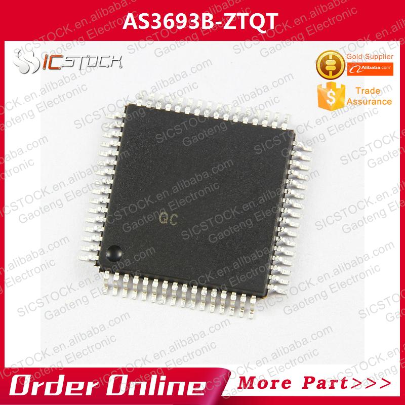 AS3693B-ZTQT IC LED CTLR <strong>16</strong>-CH <strong>W</strong>/PWM 64-TQFP 3693 AS3693