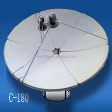 C band satellite dish antenna 180cm /mesh/wifi/digital/tv receiver