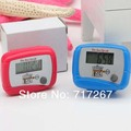 Low-power consumption pedometer step counter display