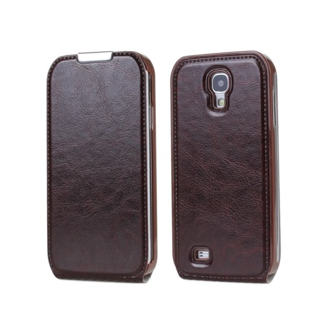 Crazy Horse Flip Leather Case Cover For Samsung Galaxy S4 S IV i9500