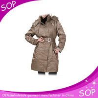 Women custom made trench in new style clothes spring women coats