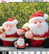 2014 best selling vivid lovely santa claus dolls for christmas