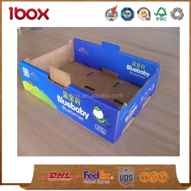new style shipping carton packaging fruit box