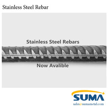 2202 304 316 Stainless Steel Deformed Bar Stainless Steel Rebar for Concrete Reinforcement