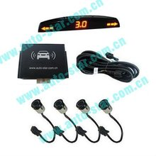 D4050 LED display digital front parking sensor
