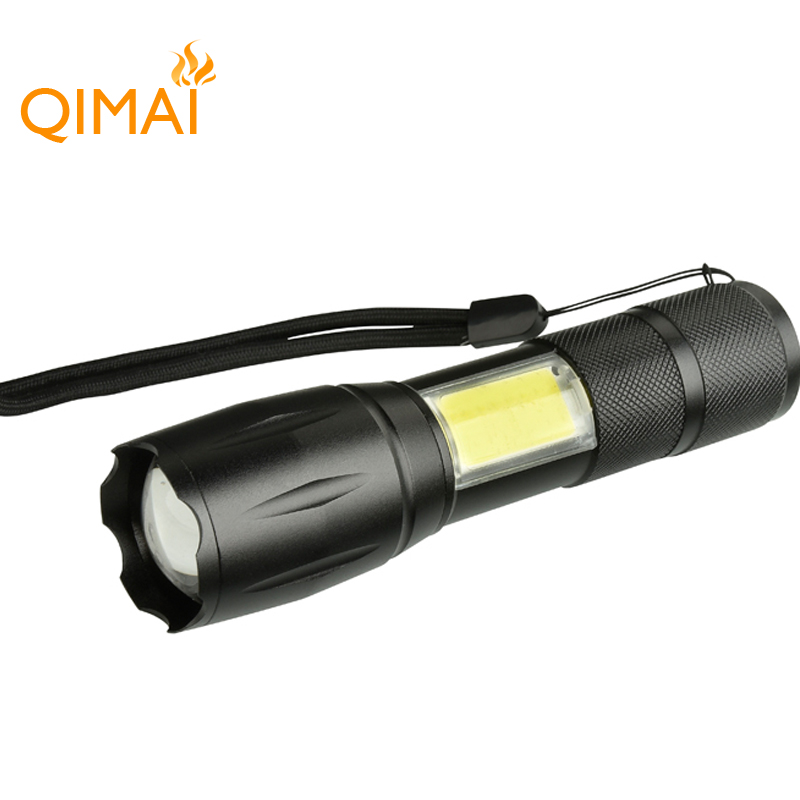 Hot sale Waterproof aluminium led torch light tactical rechargeable flashlight