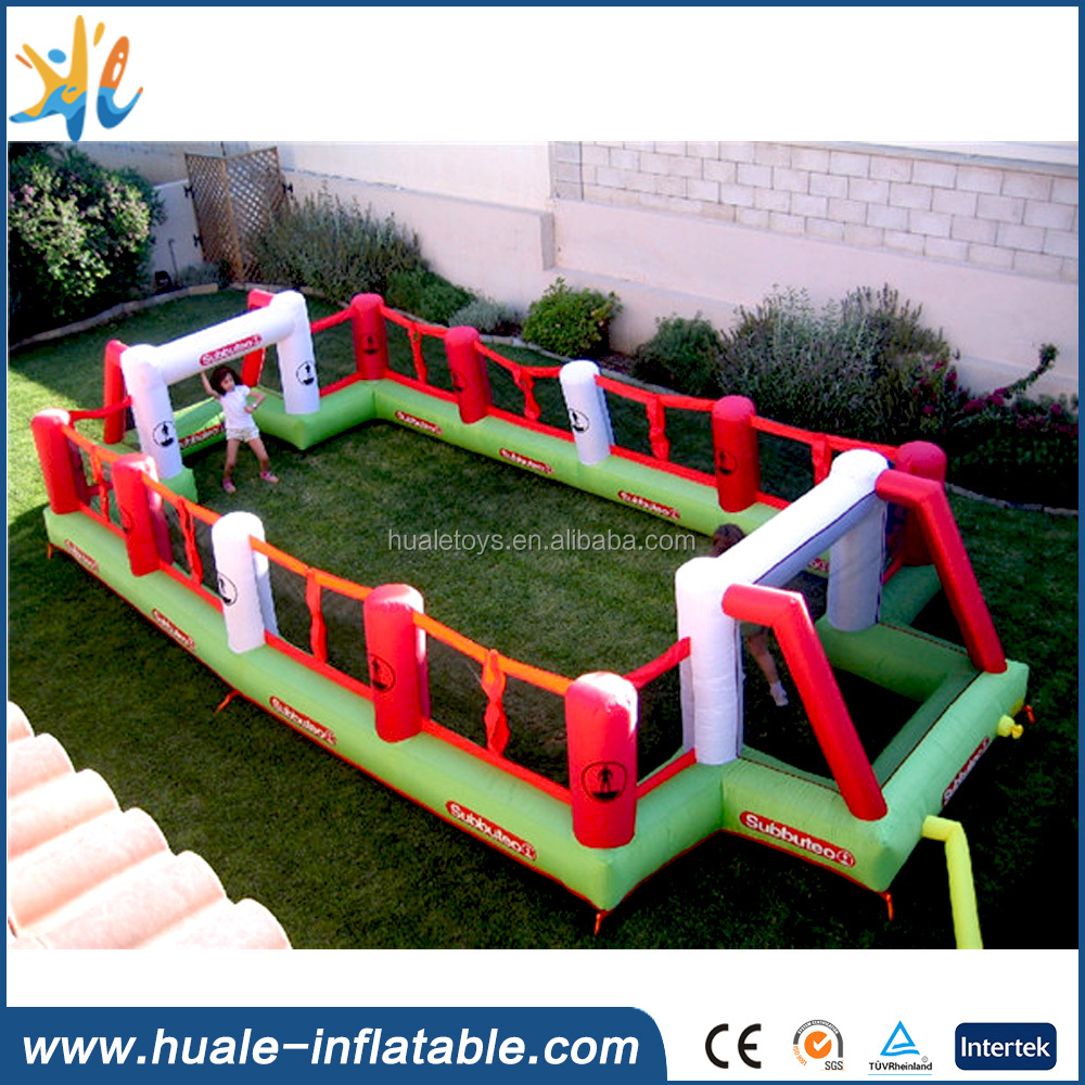 Hot outdoor inflatable football field/ pitch for sport games