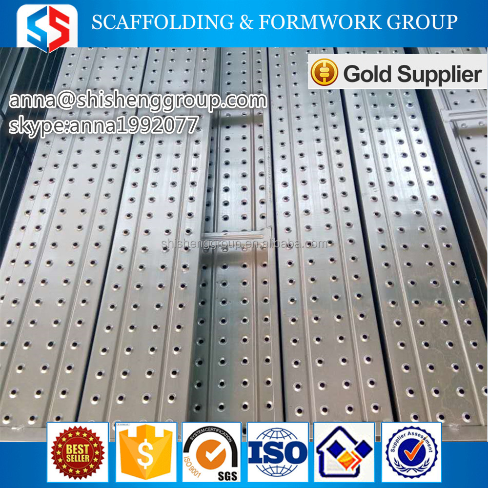 China supplier construction company aluminum walk boards/scaffolding steel plank/steel plank