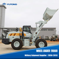 Yutong CE Aproved Used Wheel Loader With Euro 3 Emission