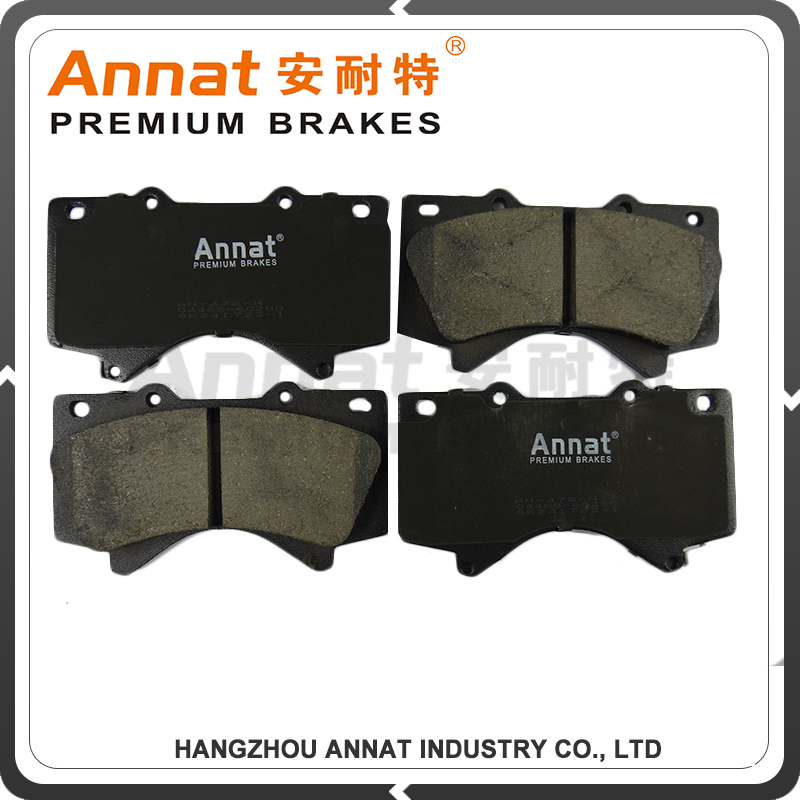 high performance brake pads 41060-AX625 for dacia logan pickup mcv auto parts