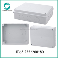 ABS enclosure cable terminal connection box
