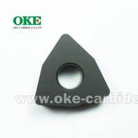 Carbide cutting tools manufacturers No chip breaker for cast iron Tungsten carbide CNC insert