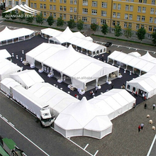 Anti-snow octagonal party tent in ningbo and new york