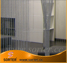 metal door fly screen curtain