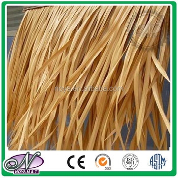 China wholesale synthetic palm thatch