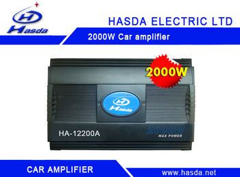 High power amplifier for car 1000W