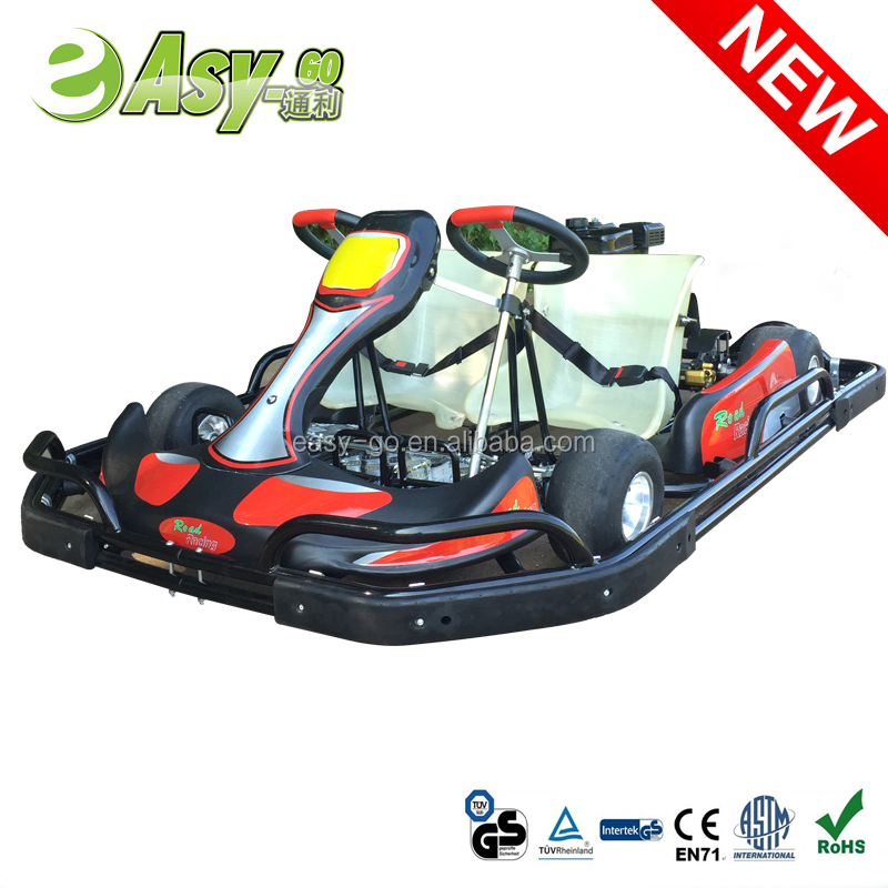 Easy-go hottest 200cc/270cc 2 seats go kart covers with steel safety bumper pass CE certificate