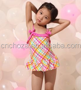 Z55809A Baby Girls Summer Child Swimwear 2pcs Seaside Swimsuit/Baby Bathing Suit/Swimming Little Girls Swimsui