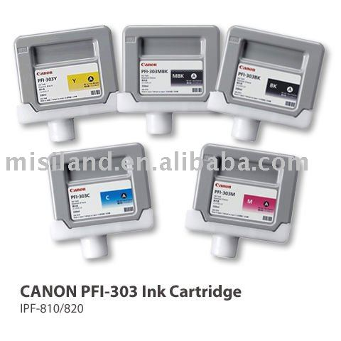 CANON PFI-303 original ink cartridge for CANON iPF-810 820 printer