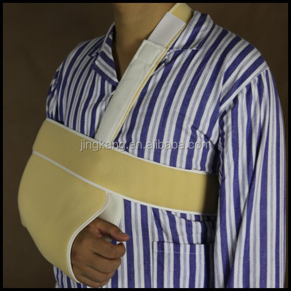 CE approved medical adjustable Broken Fracture shoulder arm sling made in china