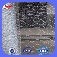 Anping cheap hexagonal galvanized gabion box stone cage(ISO9001 factory)