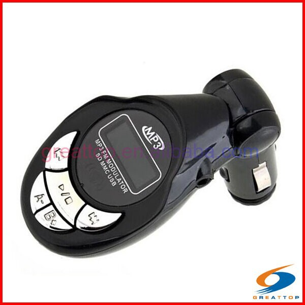 2015 new sd mmc car folder change led usb flash car mp3 player