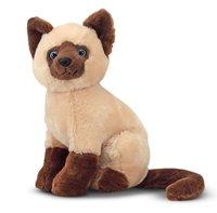 2014 new design stuffed siamese cat animal toy toy