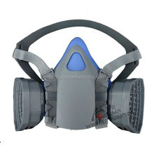 CE hot selling Double gas mask