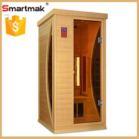 infrared sauna room with sauna heater for loss weight health care detox