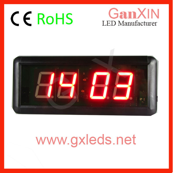 Popular small 4 digit prayer time display