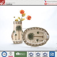 The Great Wall Group Coconut palm design ceramic vase
