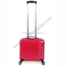 Hot Red ABS/PC Hardshell Pilot Trolley Bags