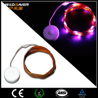 USB rechargeable Lithium Battery Strip Operated led light for Clothing