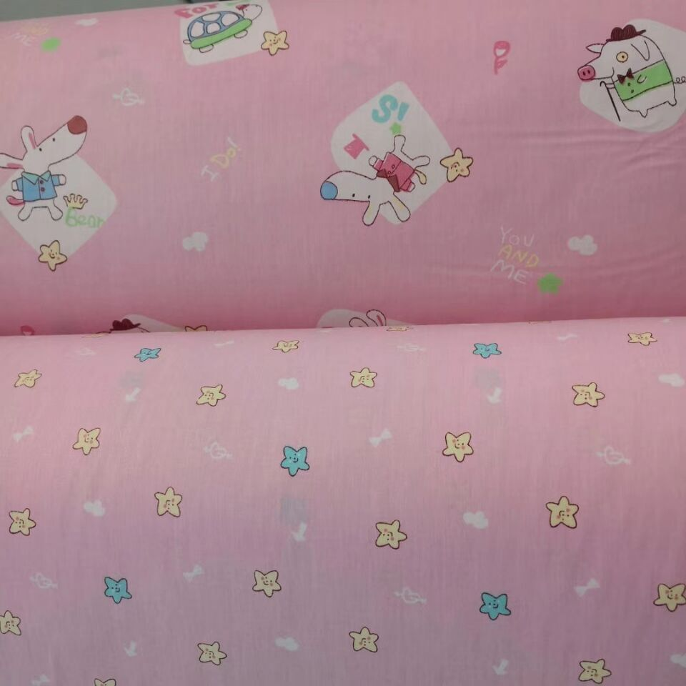 Manufacturer High Quality Plain Cotton Fabric for Bed Sheet