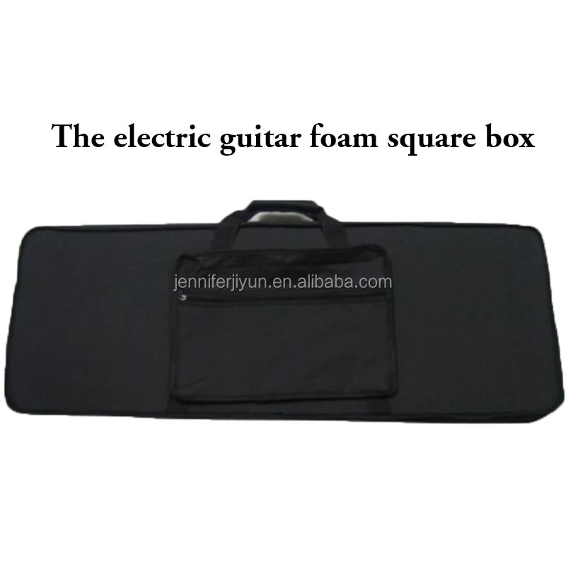 China Factory Wholesale Waterproof Square Foam Electric Guitar Cases