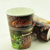 disposable hot drinking cup/ vending machine 12oz paper cup with nice printing/ best sell disposable hot coffee cups paper