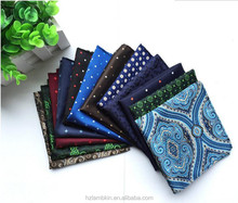 Wholesale Polyester Fibre pocket square with low price