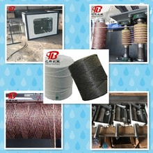 Plastic net pp baler twine rope machine with high quality