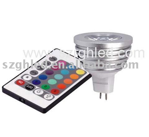 3W RGB led ceiling spot light