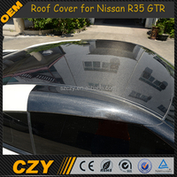 OEM GTR R35 Auto Tuning Parts Carbon Wrap Skin Roof for Nissa n 09up