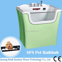 acrylic massage bathtub,popularity size dog grooming bathtub MG777