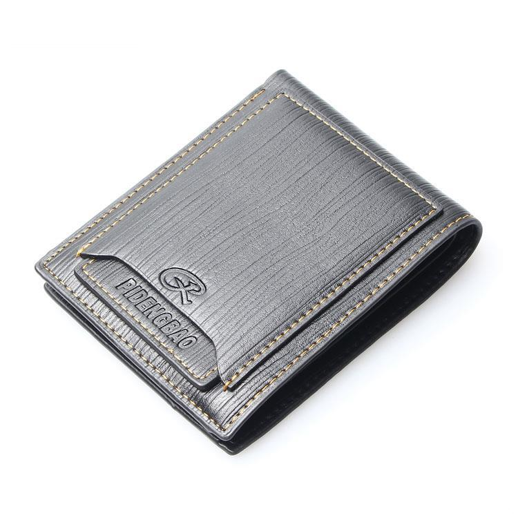 Special Promotion Free Shipping Mens Real Genuine Leather Wallet Pockets Card Clutch Cente Bifold Purse Men's Wallets Mens Purse