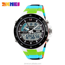 Digital hand watches dual time men watches brand low price watch