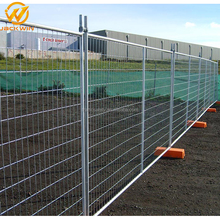High Security Powder Coated Steel Temporary Fence Panel