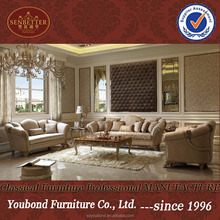 0066 Latest baroque vintage design living room sofa, Dubai lifestyle sofa furniture