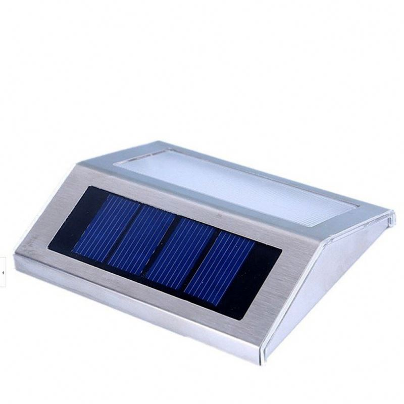 0.8W 40LM Solar Launched Light 2016 New Garden Outdoor Home Led Daylight Wall Solar Light